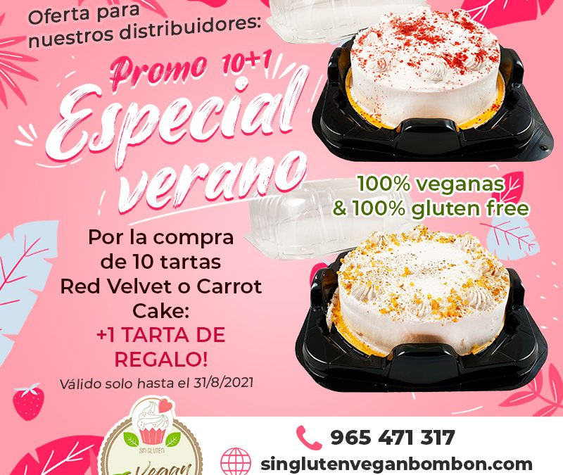 Promociones de verano Sin Gluten Vegan Bombón