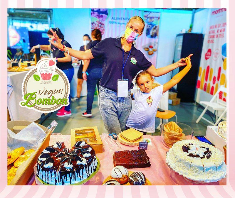 Vegan Bombón Sin Gluten en la Feria Alicante Gastronómica 2021 en IFA